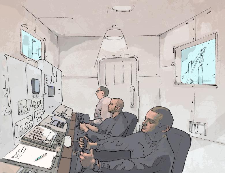 Concept Art Control Room